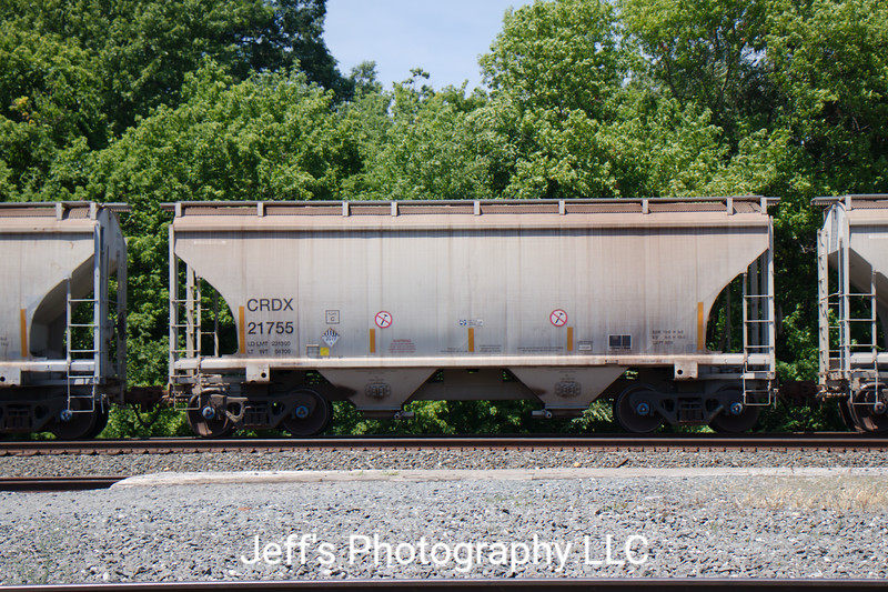Chicago Freight Car Leasing Company 2-Bay Trinity 3281 cu. ft. Covered Hopper No. 21755