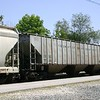Chicago Freight Car Leasing Company 3-Bay PS 4750 cu. ft. Covered Hopper No. 7744