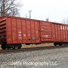 """GATX Corporation - Laurinburg and Southern Railroad 50'6"""" 5250 cu. ft. Single Door Boxcar No. 3215"""