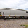 General American Marks Company 3-Bay Trinity 5161 cu. ft. Covered Hopper No. 6964