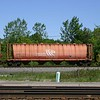 GATX Rail Canada Corporation 4-Bay HS 4550 cu. ft. Cylindrical Covered Hopper No. 1311