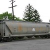 General American Marks Company 5-Bay ACF 5125 cu. ft. Centerflow Pressure Differential Covered Hopper No. 11013