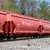 General American Marks Company 3-Bay NSC 4300 cu. ft. Covered Hopper No. 2172