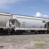 General American Marks Company 2-Bay ARI 3258 cu. ft. Centerflow Covered Hopper No. 9179