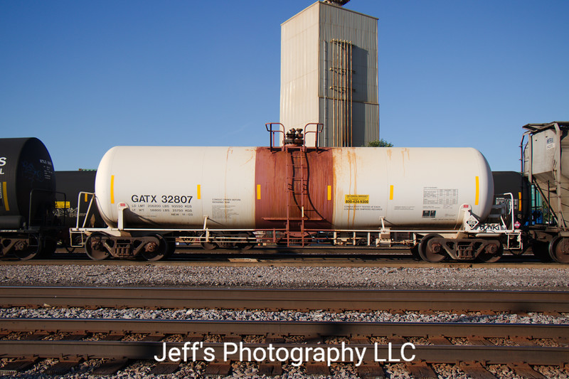 General American Marks Company Trinity 24,744 Gallon Tank Car No. 32807