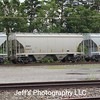 SMBC Rail Services LLC 2-Bay 3281 cu. ft. Covered Hopper No. 329415