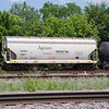 SMBC Rail Services LLC 3-Bay ARI 4275 cu. ft. Centerflow Covered Hopper No. 3817
