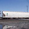 SMBC Rail Services LLC 4-Bay ARI 5750 cu. ft. Centerflow Pressureaide Covered Hopper No. 43411