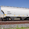 SMBC Rail Services LLC 2-Bay FCA 3282 cu. ft. Covered Hopper No. 325263