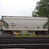 SMBC Rail Services LLC 2-Bay ARI 3281 cu. ft. Centerflow Covered Hopper No. 435059