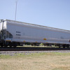 SMBC Rail Services LLC 4-Bay ARI Centerflow Covered Hopper No. 41866
