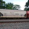 SMBC Rail Services LLC 3-Bay ARI 4275 cu. ft. Centerflow Covered Hopper No. 3780