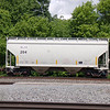 SMBC Rail Services LLC 2-Bay Greenbrier 3250 cu. ft. Covered Hopper No. 204