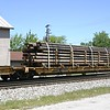 "TTX Company 89'4"" Chain Tie-Down Flat Car No. 136230"