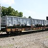TTX Company 60' Container Only Deck Flat Car No. 93678
