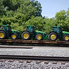 TTX Company 60' Chain Tie-Down Flat Car No. 97853