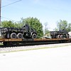 "TTX Company 89'4"" Chain Tie-Down Flat Car No. 911464"