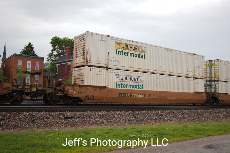 TTX Company 53' Greenbrier Maxi Stack IV Well Car No. 766090