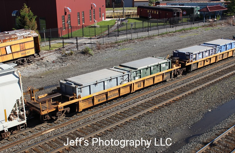 TTX Company 40' Thrall Well Car No. 758510
