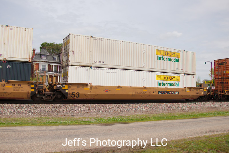 TTX Company 53' Greenbrier Maxi Stack IV Well Car No. 767450
