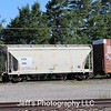 VTG Rail Incorporated 2-Bay 3000 cu. ft. Covered Hopper No. 3084