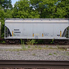 Wells Fargo Rail 2-Bay Thrall 3250 cu. ft. Covered Hopper No. 330193