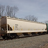 Wells Fargo Rail 4-Bay Covered Hopper No. 1781
