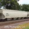 Wells Fargo Rail 3-Bay NSC 6352 cu. ft. Covered Hopper No. 863725