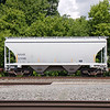 Wells Fargo Rail 2-Bay Greenbrier 3250 cu. ft. Covered Hopper No. 322086