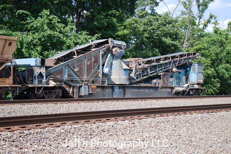 Georgetown Rail Equipment Company Dump Train No. 2250