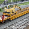 Herzog Contracting Corporation Multi-Purpose Machine Self-Propelled Train Well Car No. 1980