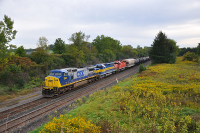 Unknown Westbound Ethanol train with DME and CP power