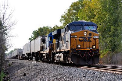 Q020 Eastbound Intermodal at QC 309