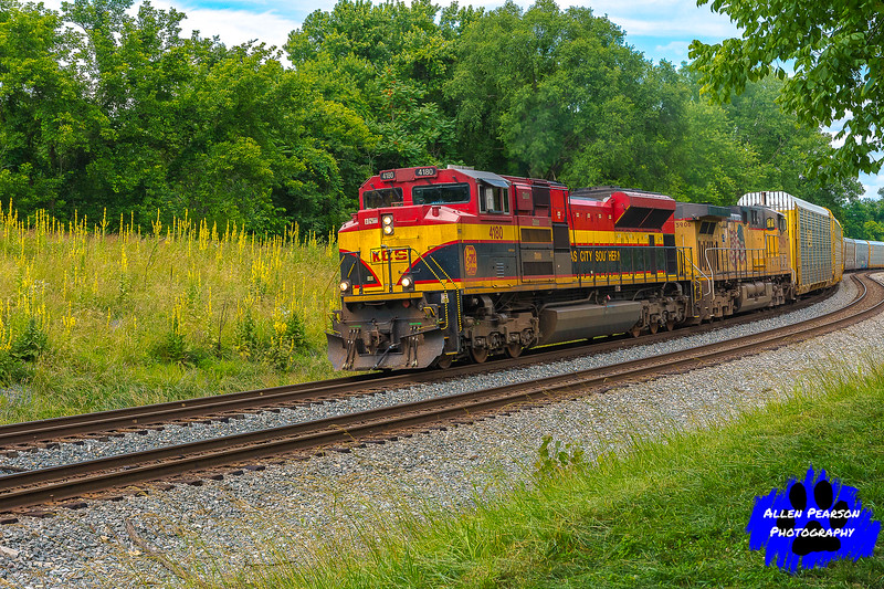 Kansas City Southern and Union Pacific Lead Auto Carriers, Shenandoah Junction, WV