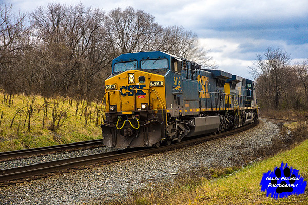 CSX Locomotive in Shenandoah Junction, WV