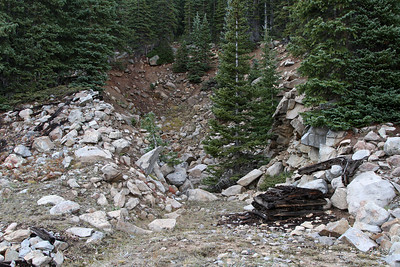 Colorado Midland Hagerman Pass Unfinished Tunnel