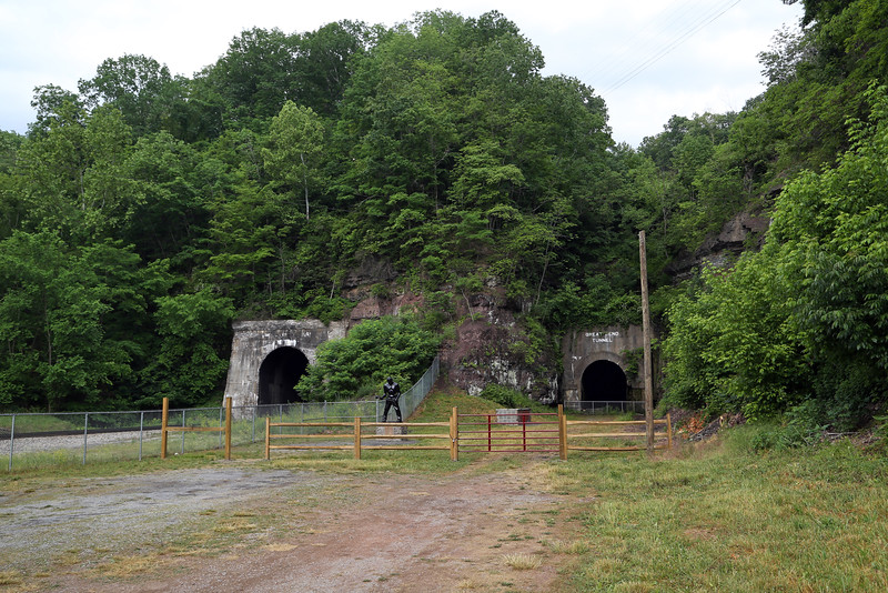 Big Bend Tunnel (left) & Great Bend Tunnel (right)