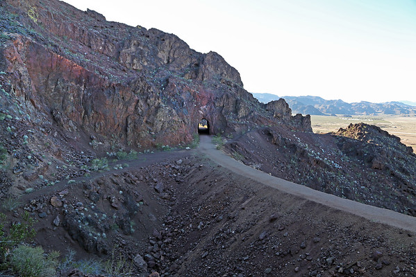 Hoover Dam Railroad Tunnels (Boulder City, NV)