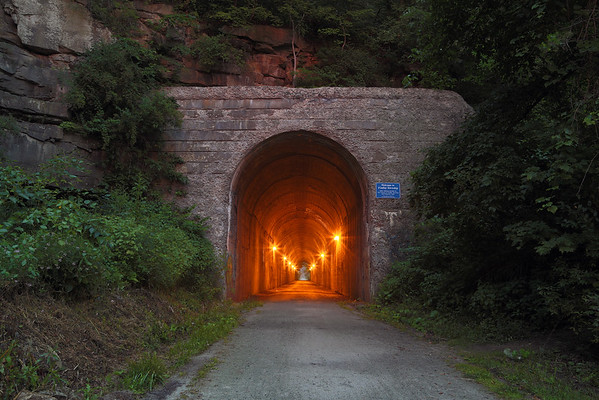 Montour Railroad Tunnels (3 by Pittsburgh, PA)