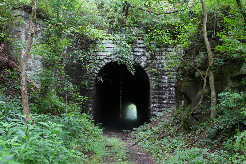 B&O Parkersburg Branch (13 Tunnels in WV) - SteamPhotos com