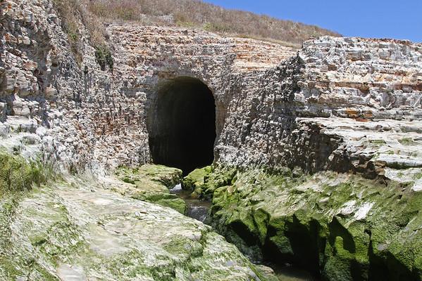 Ocean Shore Railroad (5 Creek Tunnels in CA)