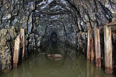 South Penn Railroad Negro Mountain Tunnel