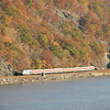 Metro-North commuter train at Bear Mountain, New York