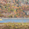 Amtrak Empire Service train at Bear Mountain, New York