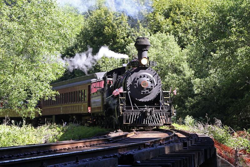 California Western Railroad (Skunk Train)
