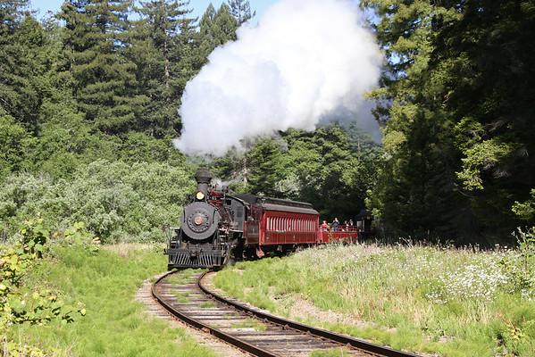 California Western Railroad - Skunk Train