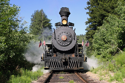 California Western Railroad (Skunk Train)