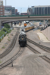 Backing into Denver Union Station