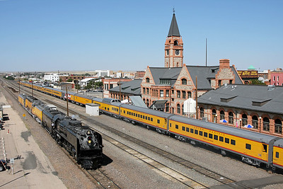 Layover at Cheyenne Depot
