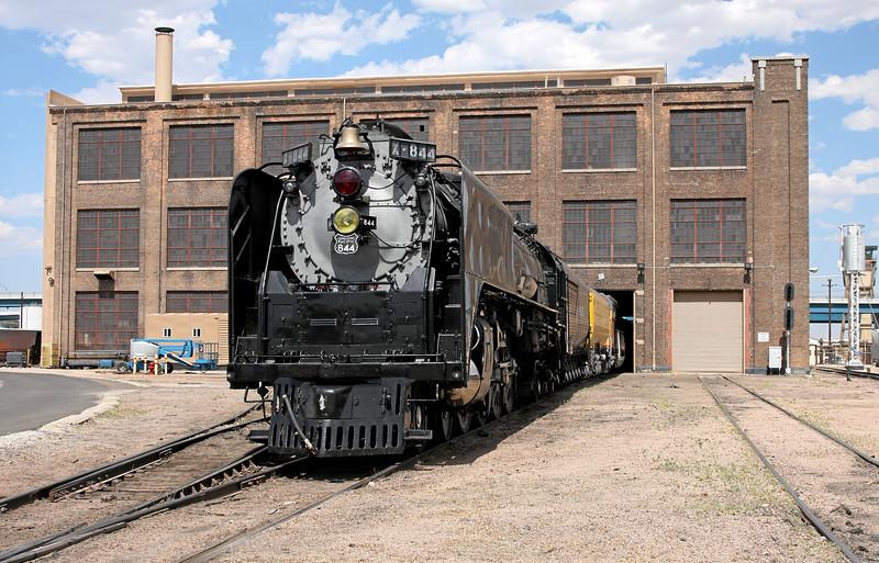 UP Steam Shop in Cheyenne